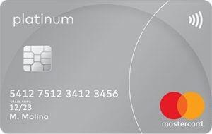 Cartão MasterCard Platinum