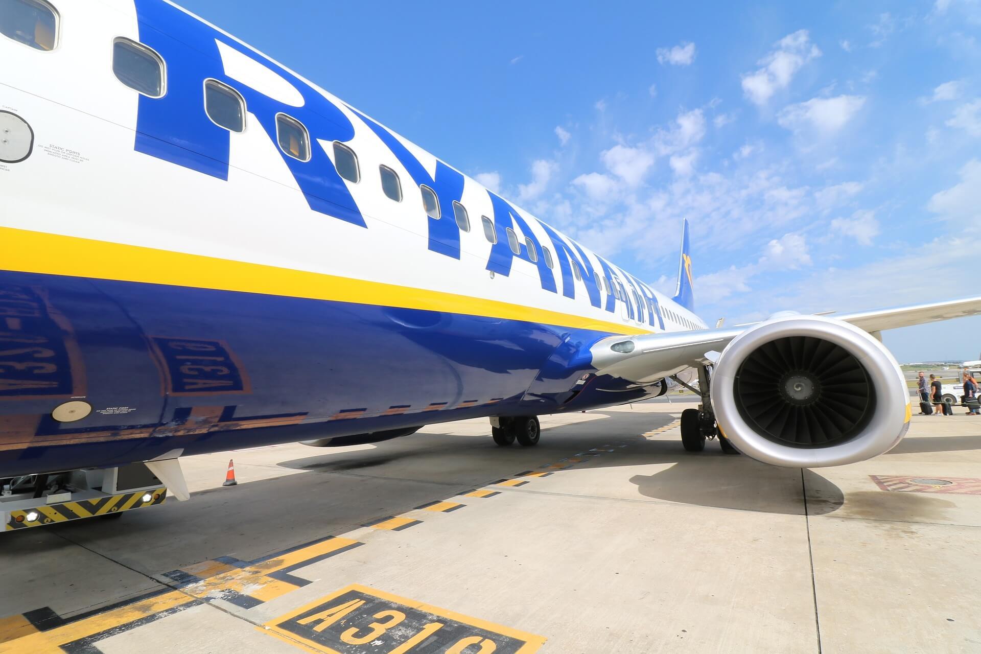 Airplane Ryanair