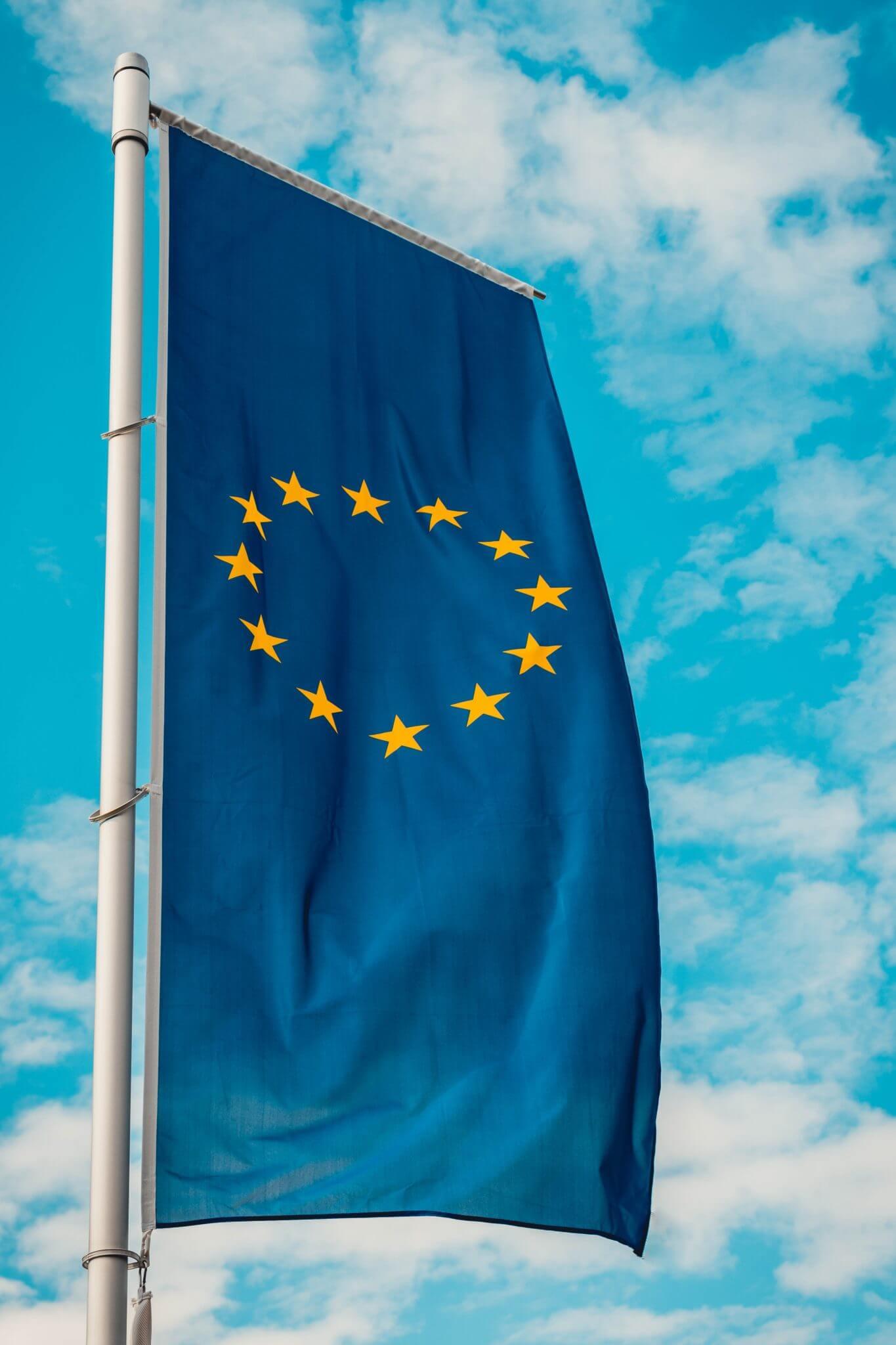European Flag Photo by Christian Wiediger on Unsplash
