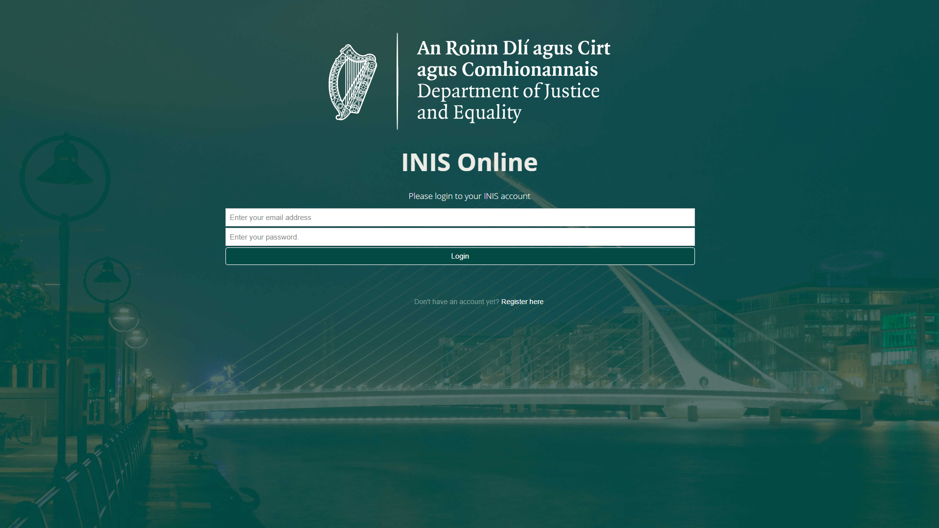 INIS IRP Online Service - Dublin