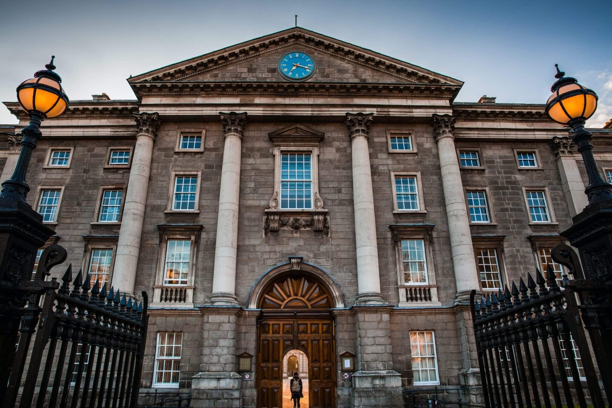 Trinity College Dublin - Photo by Stephen Bergin on Unsplash