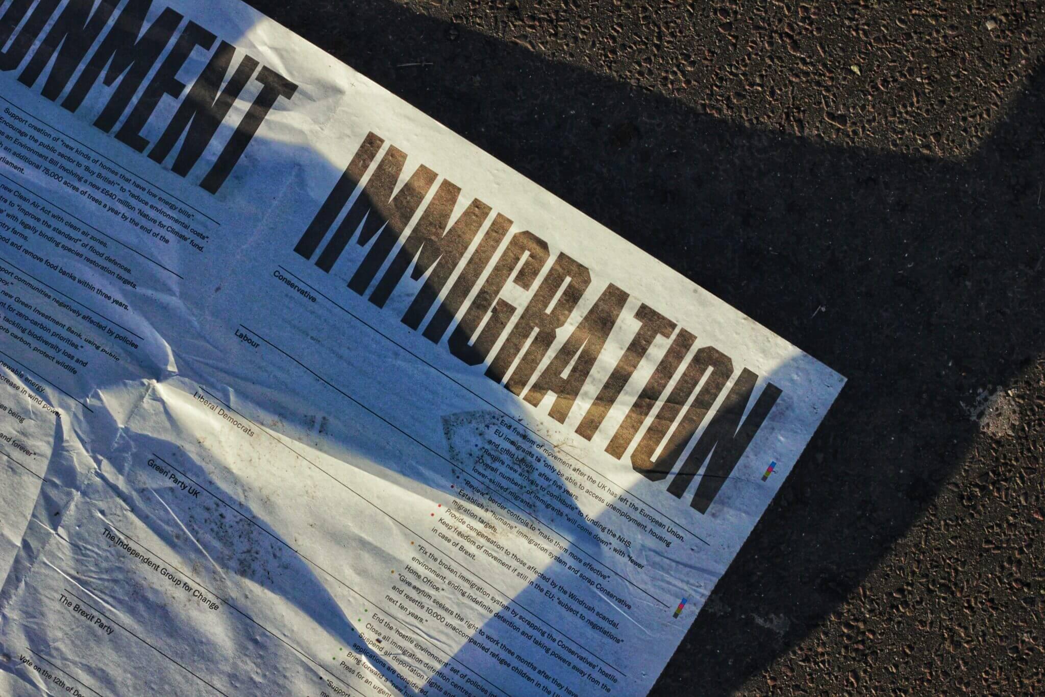 Immigration - Photo by Metin Ozer on Unsplash