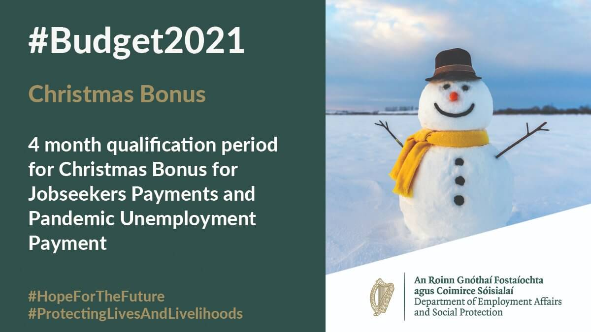 Christmans Bonus for Jobseekers Payments and Pandemic Unemployment Payment by MyWelfare Twitter