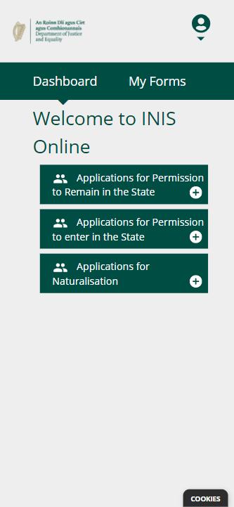 INIS Online - Step 2 - Logado no sistema