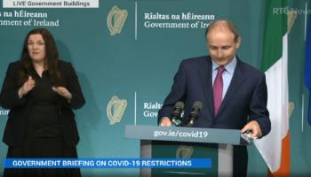 COVID-19: Irlanda Extende Lockdown Level 5 e Anuncia Novas Restrições