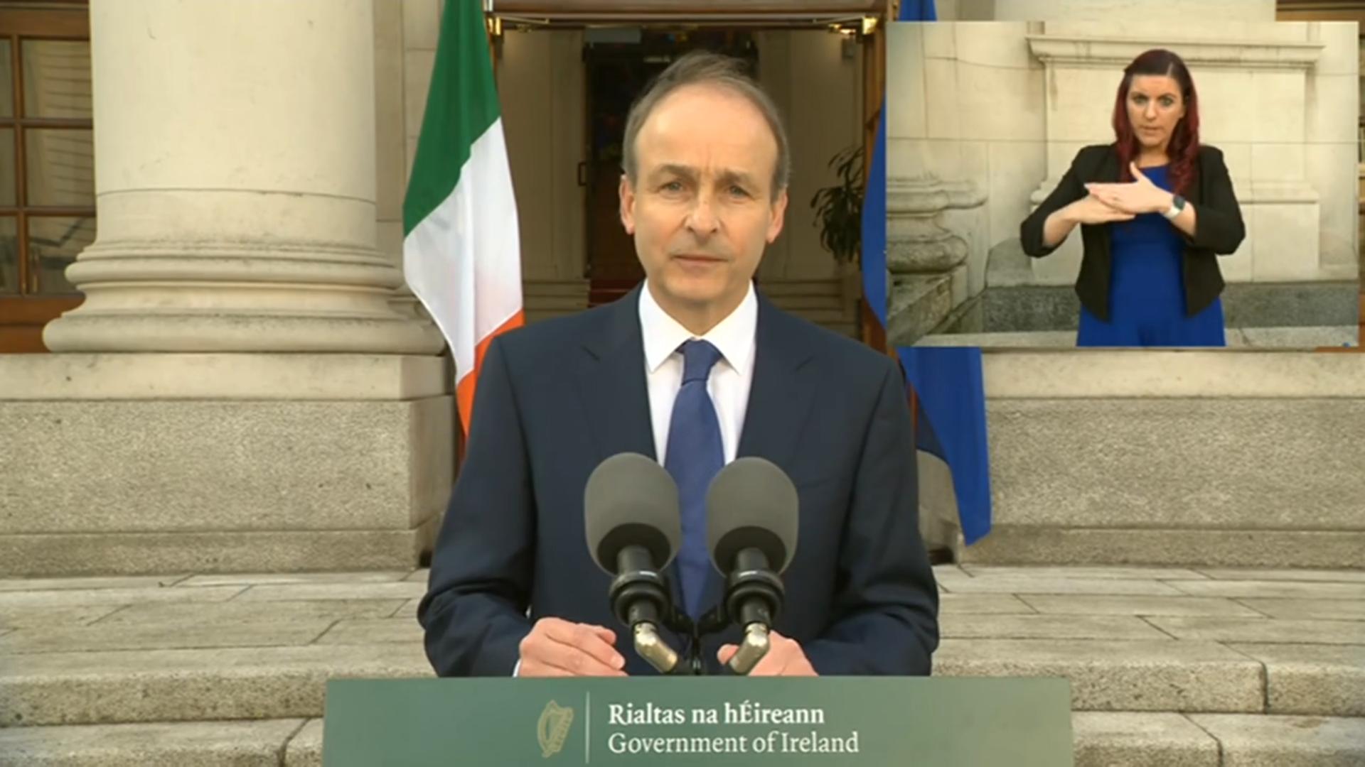 RTE Speech 26-04 @ Taoiseach Micheal Martin