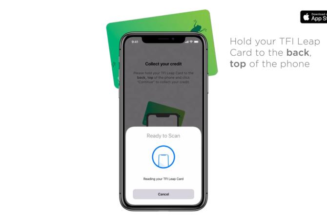 Usuários do Iphone Podem Recarregar o Leap Card