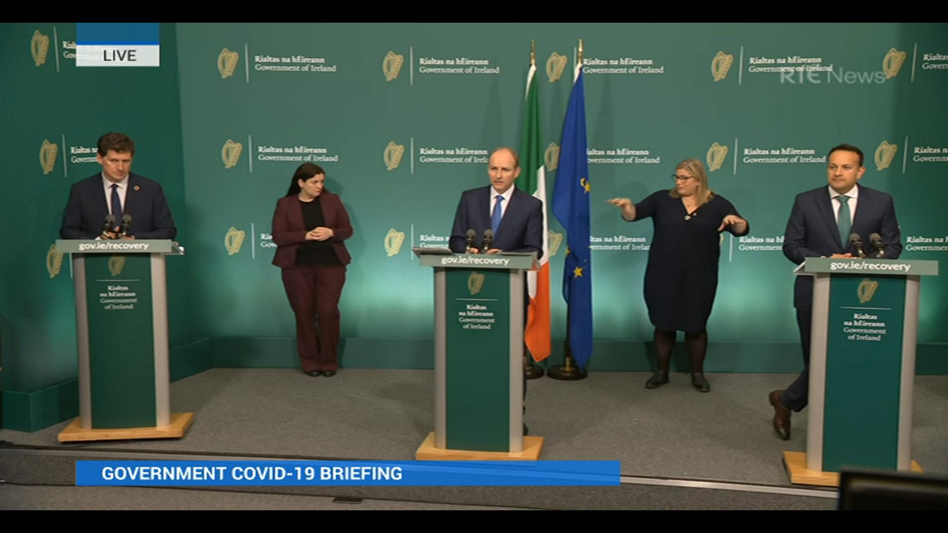 RTE - Speech @ Ireland